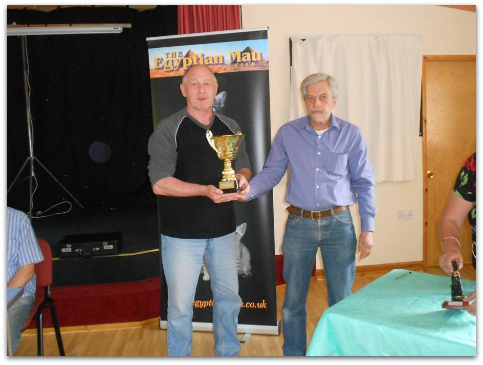 Photo of Egyptian Mau Club Panton Harold Trophy